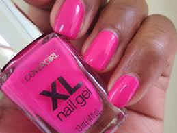 notd covergirl xl nail gel whole lotta guava