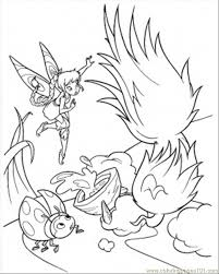 tinkerbell printable kids coloring