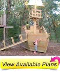 Pirate Ship Backyard Playset by Wooden Pirate Ship Playhouse Plans Review By Diy Father U0026 Son Team