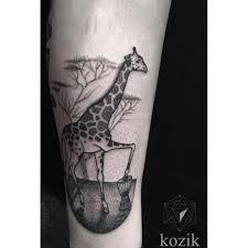 Drummer Tattoo Ideas Giraffe Drummer Dotwork Tattoo By Hidden Moon Tattoo Best Tattoo