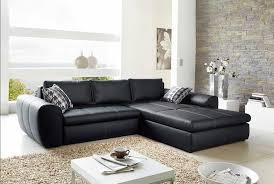 steinwand wohnzimmer material design ecksofa leder schlaffunktion komplett mit couchtisch