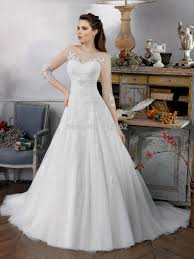 wedding dresses online shopping lace wedding dress with 3 4 sleeves naf dresses