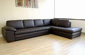 Amazing Modern Tufted Leather Sofa With Sectional Sofas Image 6 Of