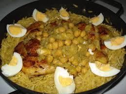 recette de cuisine plat recette tlitli spécalité algérienne à base de pâtes cuisinez