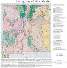 New Mexico vegetaion images Ecoregion maps and gis resources jpg