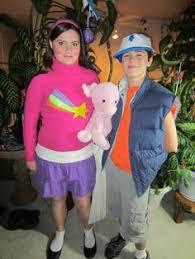 Gravity Falls Halloween Costumes Gravity Falls Homemade Cosplay Gravity Falls