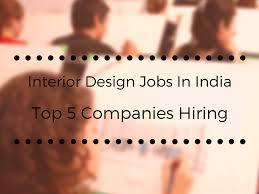 career in interior design salary india