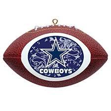 nfl dallas cowboys mini replica football ornament