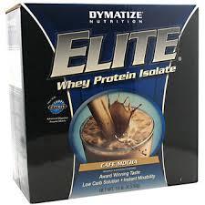Dymatize Elite Whey 10 Lbs dymatize elite whey protein isolate cafe mocha 10 lb 4536 g