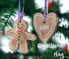 gingerbread clay recipe for ornaments the imagination tree