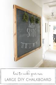 How High To Hang Art Best 25 Hanging Chalkboard Ideas On Pinterest Diy Chalkboard