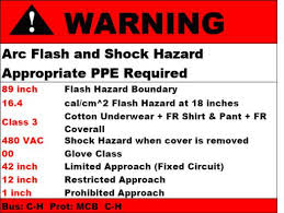 nfpa 70e arc flash table suny new paltz environmental health and safety