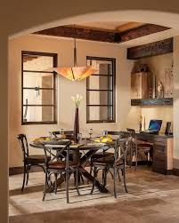 Southwest Dining Room Furniture Rustic Ceiling Beams Ideas Dining Room Southwestern With Rustic