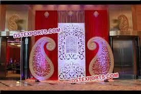 wedding backdrop panels wedding stage backdrop panels fiber frame wedding