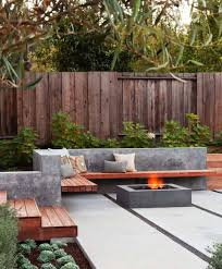 Backyard Patios Ideas Best 25 Rectangular Fire Pit Ideas On Pinterest Rectangular Gas