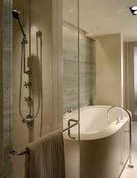 seattle contemporary bathroom designs with sunken tub traditional