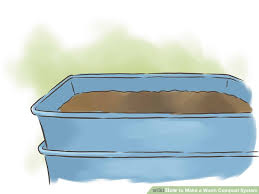 How To Make A Compost Pile In Your Backyard by How To Make A Worm Compost System 10 Steps With Pictures