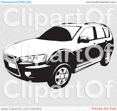 jeep vector royalty free vector clip art illustration of a black and white