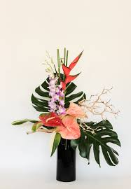 flower delivery san jose large tropical arrangement in san jose ca flowers by