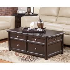 Ashley Furniture Living Room Tables by Ashley Furniture Coffee Table With Wheels Signature Design By
