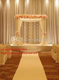 Curtain Drapes For Weddings Wedding Backdrops For Square Canopy Wedding Decoration Props
