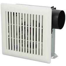 reversible wall exhaust fans nutone 50 cfm wall ceiling mount exhaust bath fan 696n the home depot