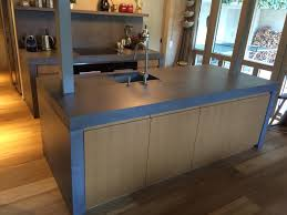 kitchen design works concrete kitchen design example countertops from dade design