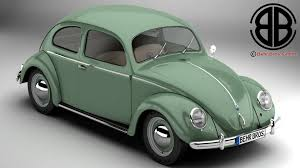 volkswagen beetle modified volkswagen beetle 1951 deluxe 3d model
