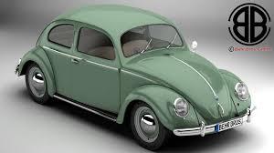 volkswagen beetle modified volkswagen beetle 1951 deluxe 3d model