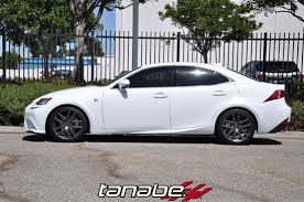 2014 lexus is250 f sport awd tanabe usa r d tanabe nf210 springs for 2014 lexus is250 f
