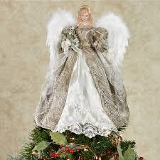 elegant angel tree topper home u003e elegant angel tree topper with