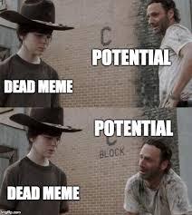Walking Dead Meme Rick Crying - rick and carl memes imgflip
