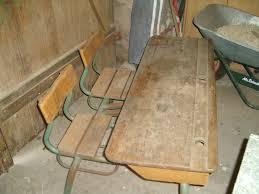 bureau ancien ecolier table d écolier la déco de gégé