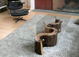 Log Side Table Nightstands Floating Bedside Table Tree Trunk Table For Sale Log
