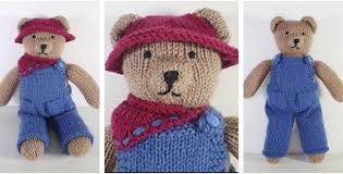 teddy clothes knitted teddy clothes free knitting pattern