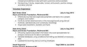 resume sample resume for chef job amazing cooking resume british