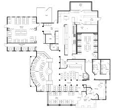 kitchen layout grill and bar floor plans commercial restaurant