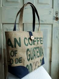 25 unique burlap coffee bags ideas on coffee sacks