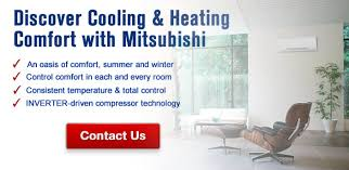 Total Comfort Control Mitsubishi Heating And Cooling Perfect Temperatures Indoors