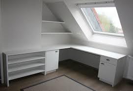 sous bureau bureau sous combles travaux aménagement attic