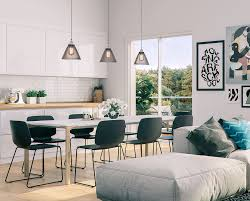 Living Room With Dining Table by 32 More Stunning Scandinavian Dining Rooms