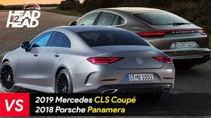 porsche car 4 door 2019 mercedes cls vs porsche panamera 4 door coupé comparison