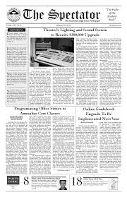 naviance resume builder volume 106 issue 9 by the stuyvesant spectator issuu