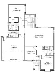 3 bedroom 2 bathroom 2 wc double garage red