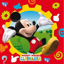 mickey mouse clubhouse party mickey mouse clubhouse napkins in packs of 20 party wizard
