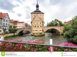 Bamberg Germany Map by Old Town Hall In Bamberg Germany Stock Photo Image 42989655