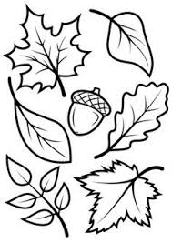 tree leaves print color 004 printables tree
