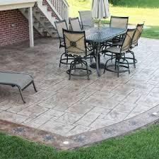 patio ideas admirer cement patios stamped concrete patio