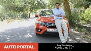 honda brio automatic official review honda jazz cvt test drive review autoportal youtube