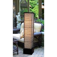 kenroy home 32250brz trellis outdoor floor lamp bronze finish
